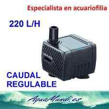 oxigenador aireador bomba de agua compresor acuario pecera gambario 220 L/H