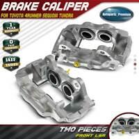 2x Brake Caliper for Toyota Sequoia 01-07 Tundra 00-06 4Runner 03-05 Front LH&RH