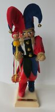 "New ListingSteinbach Court Jester Nutcracker German Limited Ed Le S1845 18"" Germany"