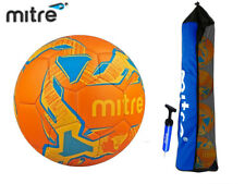 *CLEARANCE NEW* MITRE - FINAL FOOTBALL PACK 4 BALLS + BAG & PUMP - TANG - SIZE 4