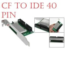 "CF Flash Card to 40 Pins IDE 3.5"" Male Adapter with PCI Bracket"