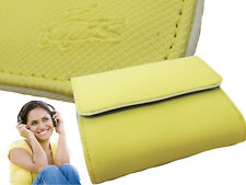 New Authentic Vintage LACOSTE Ladies Girls PURSE WALLET Classic 7 Pastel Yellow