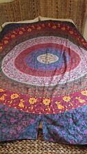 """""Long Colorful Curtains Made From Bohemian Mandala Cotton Wall Hanging"""""