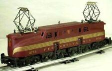 Lionel 8753 PRR GG1 Tuscan 5 Gold Stripe C7 TestRunDisplay LowRunTime