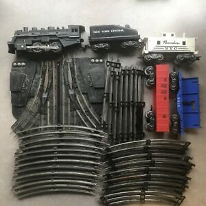 O Scale Model Train and Track Lot Louis Marx
