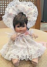 "1995 Vintage Effanbee Doll Company Porcelain 6"" Doll Mp164 Little Sister"