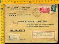 Regno francobollo commemorativo le 519 libri contrassegno