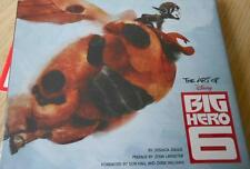The Art of Disney Big Hero 6 Book Jessica Julius John Lasseter BRAND NEW SEALED