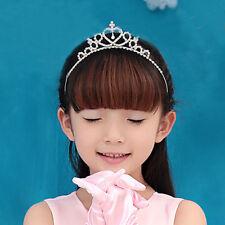 Children Toddler Princess Queen Rhinestone Wedding Prom Tiara HairBand Crown