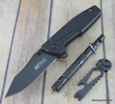 MTECH SPRING ASSISTED KNIFE WITH CAMPING TOOLS COMBO SET