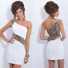 Hot Women Summer Sequins Bodycon Lace Evening Sexy Party Cocktail Mini Dress B2E