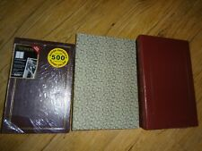 "3 Binders Photo Album 500 Pockets Each Album 4""x6"" Photos - What A Deal L@L"