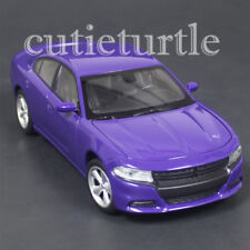 Welly 2016 Dodge Charger R/T 1:24 Diecast Model Car 28079 Purple
