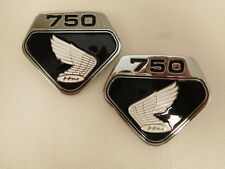 Honda CB 750 Four K0 Emblem Set Seitendeckel Emblem Set Side Cover F-17