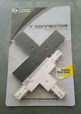 Hampton Bay (Lithonia) Linear Track Lighting T-Connector Removable End Cap White