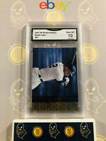 2007 Upper Deck SP Rookie Edition Derek Jeter #81 - 10 GEM MT GMA Graded Card