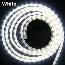 110V 5050 Dimmable LED Strip Light Flex Wire Rope Dimmer Waterproof+US Plug