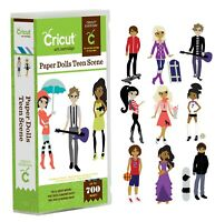 Cricut Paper Dolls Teen Scene Cartridge - Clothes & Accessories - 700 Images