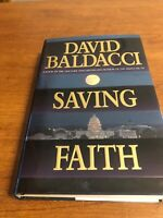 Saving Faith by David Baldacci (1999, Hardcover)