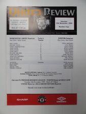 More details for manchester united v everton | 1999/2000 | reserves | 13 nov 1999 | @ bury fc