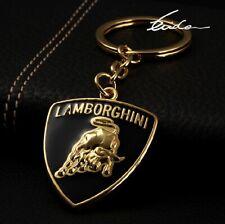 3D Chrom Auto Logo Schlüsselanhänger keyring für LAMBORGHINI Kostenloser Versand