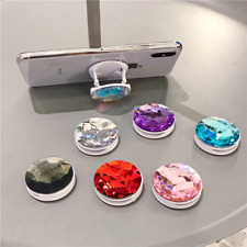 Universal Phone Holder Colorful 3D Gem Ring Expanding Stand Finger Bracket