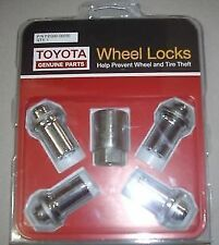 Toyota FJ Cruiser Alloy Wheel Lock Nuts Gsj15 From March 2011 Genuine