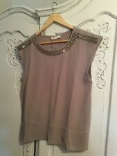 Oasis top with diamante detail BRAND NEW WITH TAGS