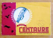 Vintage Centaure guns of Belgium catalog, 1940s. Not a reprint! Rare