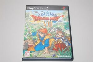 Dragon Quest 8 VIII Japan Sony Playstation 2 PS2 game