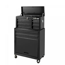 5 Drawer Tool Chest Box Cabinet Storage Combo Garage Mechanic Machinist 24-Inch