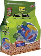 Tetra Pond Koi TetraPond Pond Sticks, Pond Fish Food, for Goldfish and Koi, 1.72