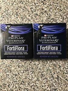 Purina Pro Plan Veterinary Fortiflora Sealed Exp. 1/22  Box X 2