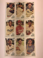 2019 Topps Allen & Ginter Lot (9) Cards Ginter Back SP Mini Jackie Robinson ++++