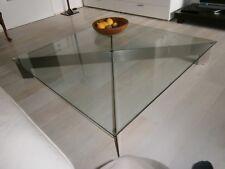 designer couchtisch glas/ edelstahl Wohnzimmer, Empfangsbereich