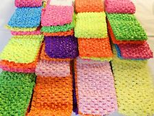 Wholesale 18pcs Girls Baby Crochet Headband With 6 inch Acrylic