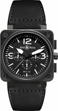 BR-01-94-CARBON-L | BRAND NEW BELL & ROSS INSTRUMENTS CHRONOGRAPH MEN'S WATCH