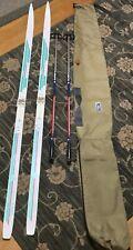 NORDIC -Sundins cross country skis,190mm,Salomon Flex 95 bindings,DI Super polls