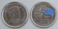 Kanada / Canada 25 Cents 2011 p1170a CuNi unz.