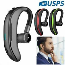 New listing Noise Canceling Bluetooth Earpiece Headset Handsfree Earphone for iOs Android