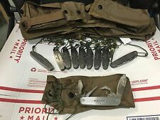 SCHRADE SCAMP4 Knife w/ Pocket US Military General Issue SURVIVAL EVASION ESCAPE