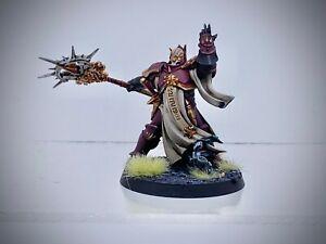 Warhammer AoS - Stormcast Eternals Knight-Incantor, painted (Astral Templars)