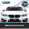BMW Motorsport Universal Sunstrip Kit Decal E46 E36 E60 E63 X1 M1 M2 M3 M4