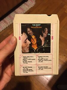 The Frost Rock And Roll Music Vanguard 8 track Tape Rare  Does Not Work Parts