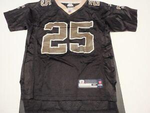 Reggie Bush New Orleans Saints Reebok NFL Jersey Size Boys Medium (10-12) #25