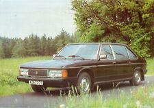 Tatra 613 Special 1981 Czech Text Sales Brochure Own Collection Great Condition