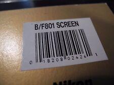 NIKON F-801s N8008s FOCUS B SCREEN IN BOX COMPLETE!!!!!!!