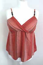 DOROTHY PERKINS - Womans Adjustable Straps With Beads Top Size UK 12