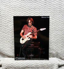 Steve Vai Carvin Legacy Amplifiers Promo Photos<<>>Onl y 1 I Have<<>>