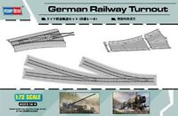 MODEL KIT  HBB82909  Hobbyboss 1:72 - German Railway Turnout